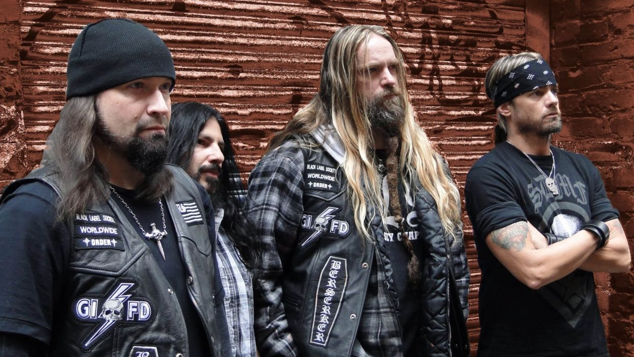 Black Label Society Zakk Wylde Ozzy bands groups music entertainment heavy metal hard rock wallpaper