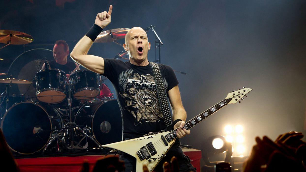Accept heavy metal hard rock bands groups album covers concerts guitars wallpaper