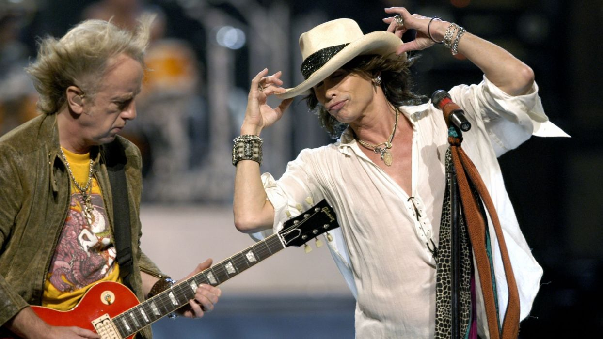 Aerosmith hard rock bands groups classic steven tyler guitars wallpaper