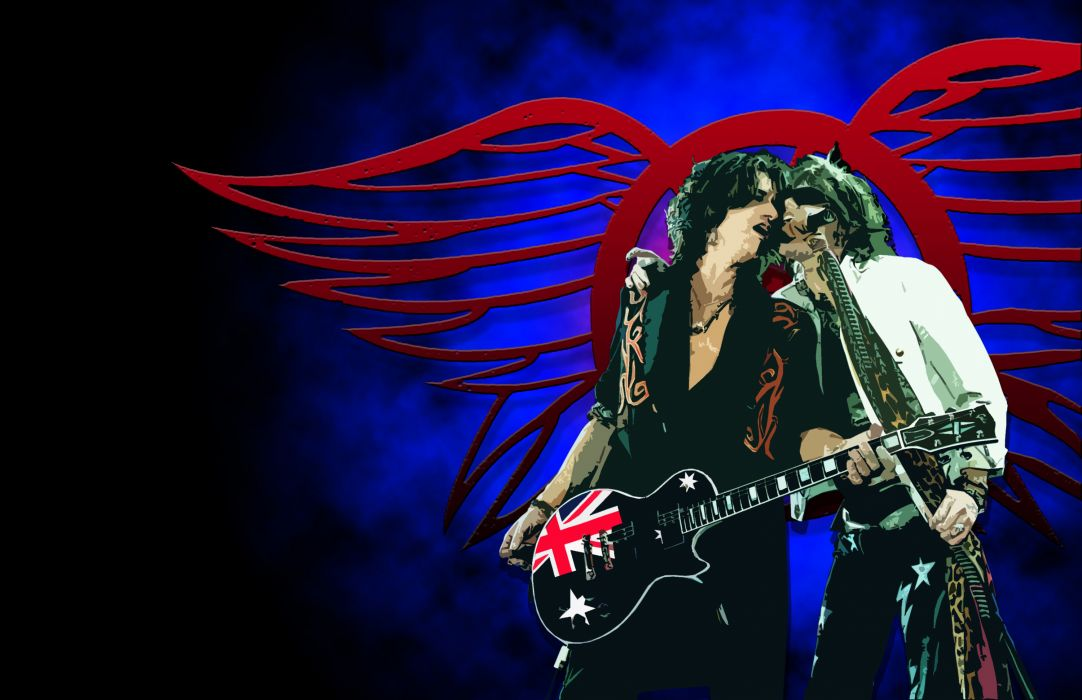Aerosmith hard rock bands groups classic joe perry steven tyler wallpaper