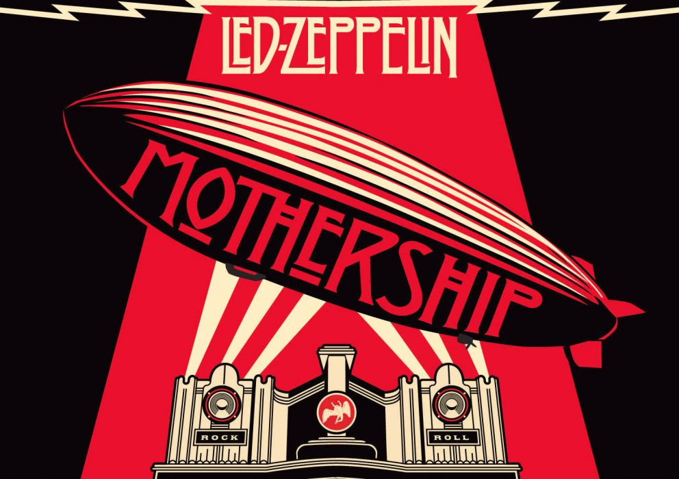 Led Zeppelin hard rock classic groups bands jimmy page robert plant album covers wallpaper