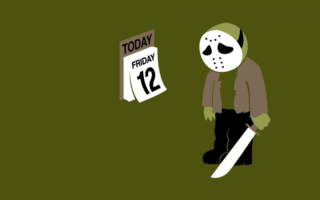 Humor funny friday the 13th jason voorhees wallpaper
