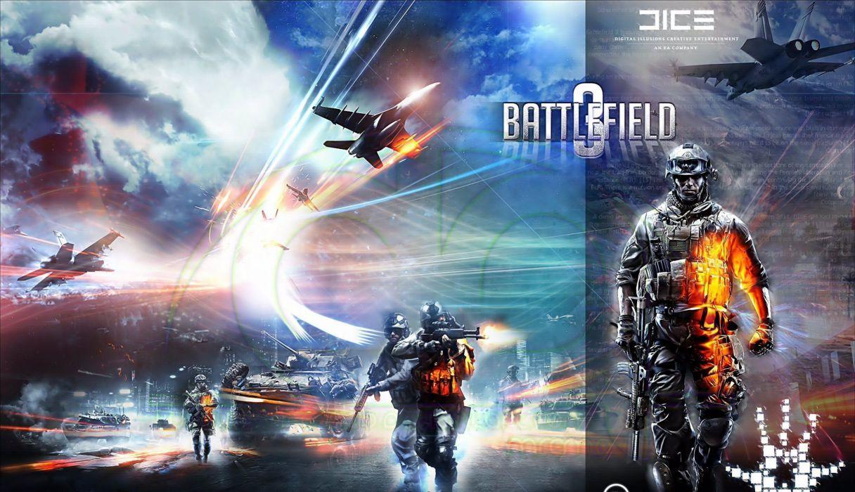 battlefield 3 ganry blackburn military weapons guns rifles machine mech tech aircraft airplane jet fighter warrior soldier war wallpaper