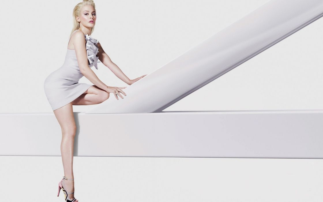 Kylie Minogue music entertainment celebrities actress women females girls models babes sexy sensual legs blondes style fashion glamour white wallpaper