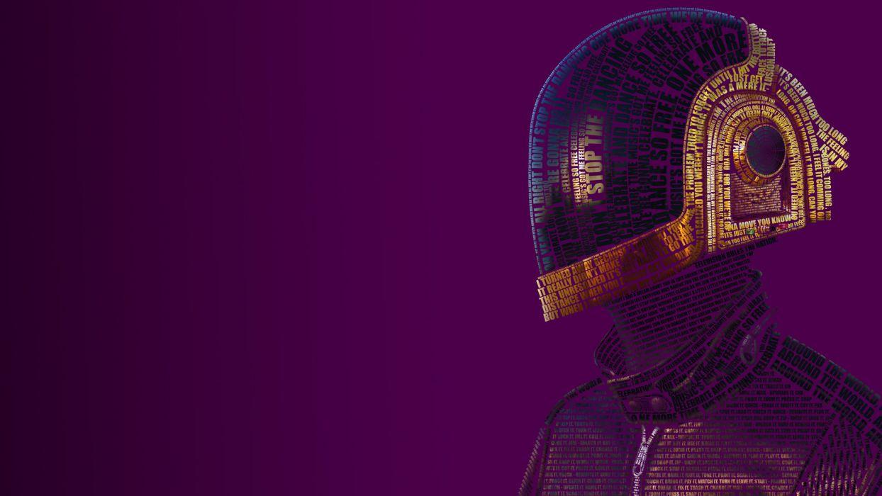 Daft Punk electronic music duo Guy-Manuel de Homem-Christo Thomas Bangalter French musicians house movement synthpop scene electronica mask helmet visor reflection color pop wallpaper