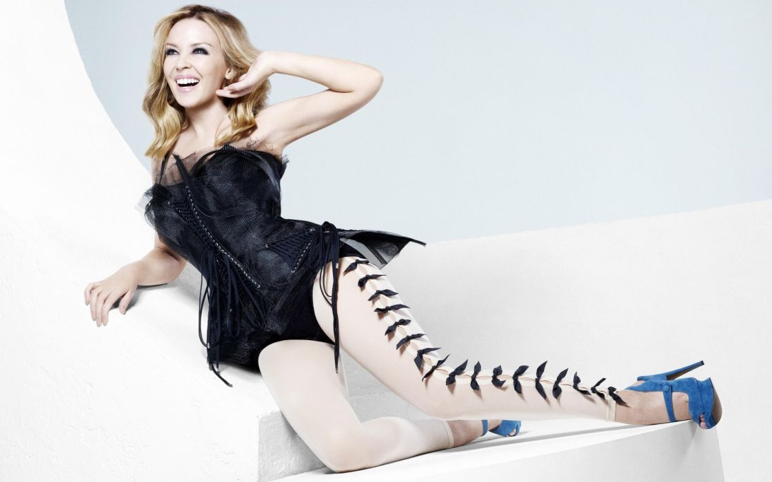 white style Girls legs music women kylie minogue sexy actress blondes fashion entertainment models glamour sensual babes females celebrities wallpaper