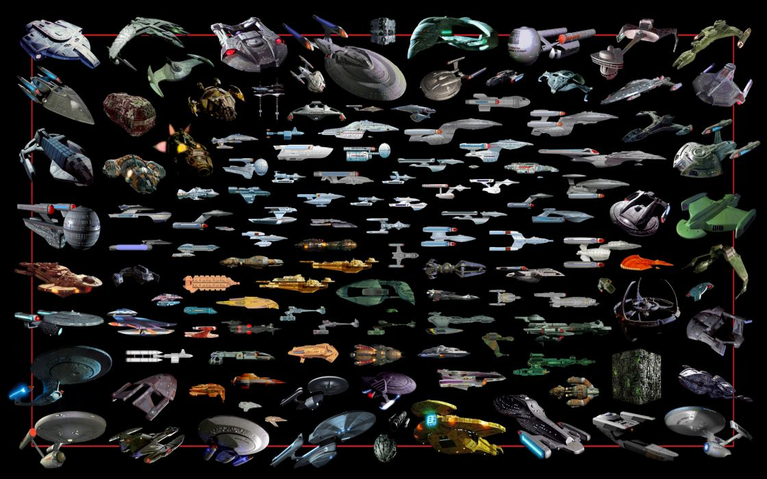 star trek movies tv television sci fi science fiction space spacehip spacecraft ships craft vehicles color tech mech collage games wallpaper