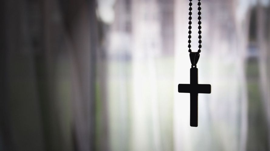 cross religion christian catholic chain window gothic Silhouette wallpaper