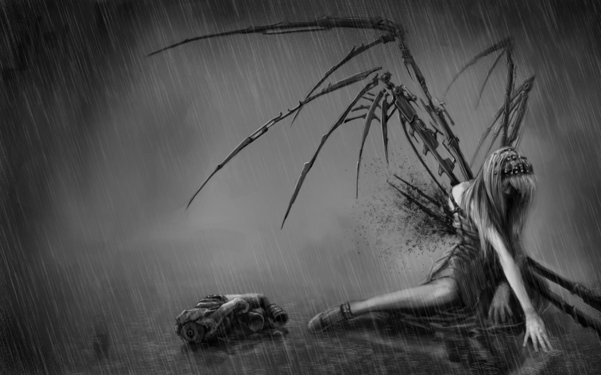 fantasy art angel sad - photo #32