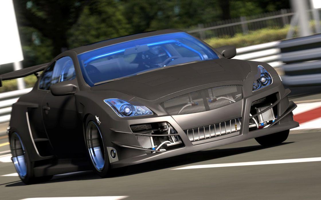 SEMA Gran Turismo 5 GT5 vehicles cars video roads race track racing race motion tuning wheels wallpaper