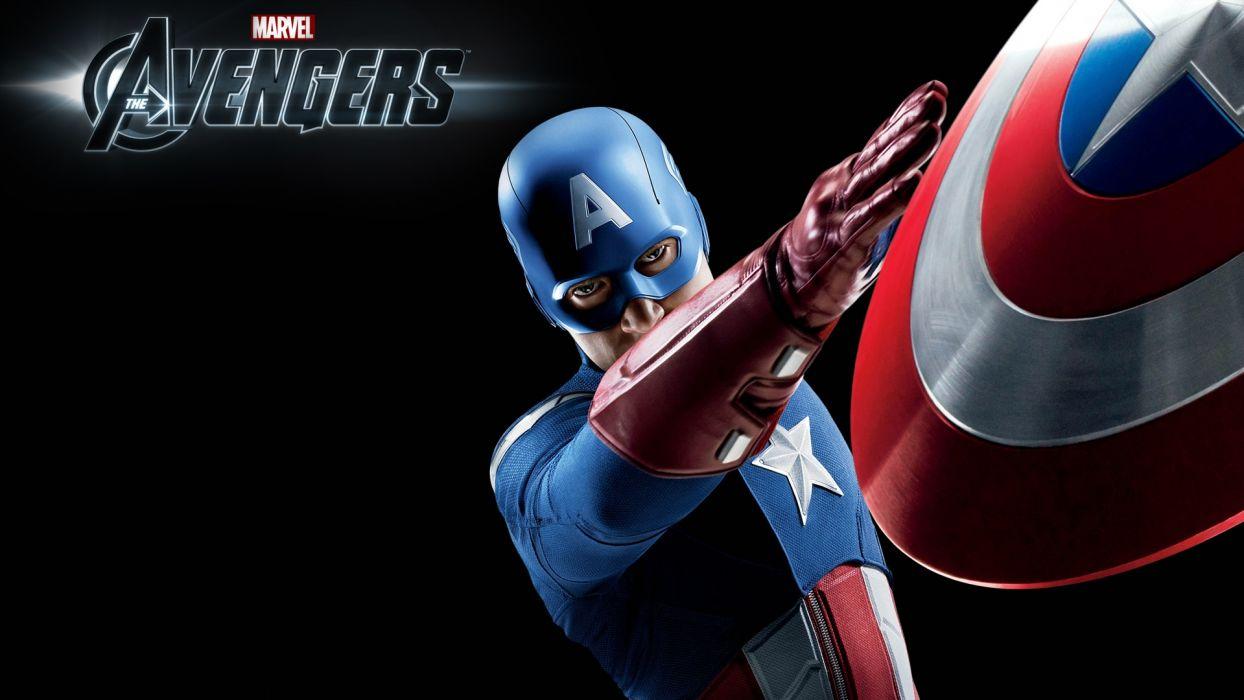 Movie The Avengers Captain America wallpaper