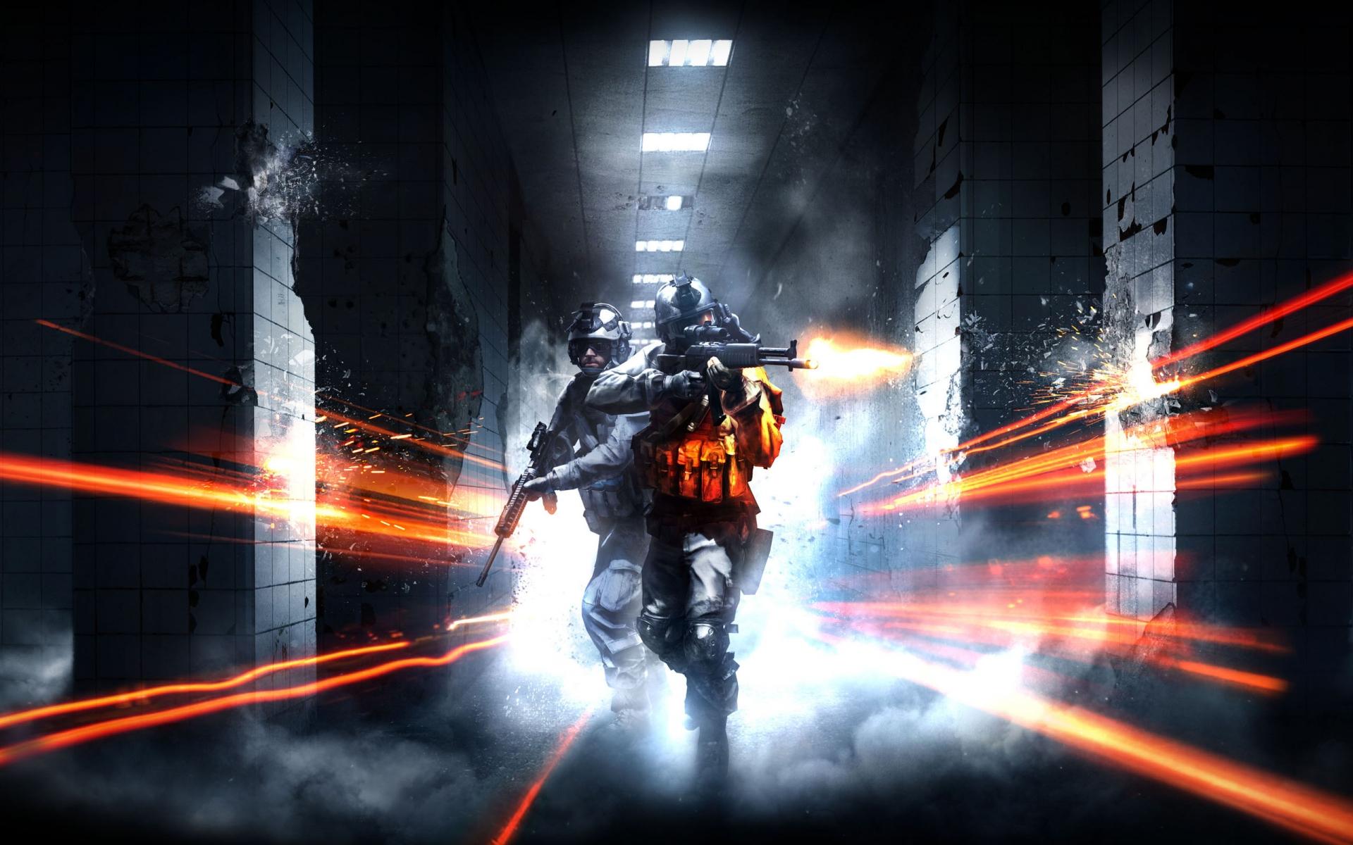 Cool Battlefield 4 Fire Armor In Black Background: Battlefield 3 Final Hour Video Games Military Warriors