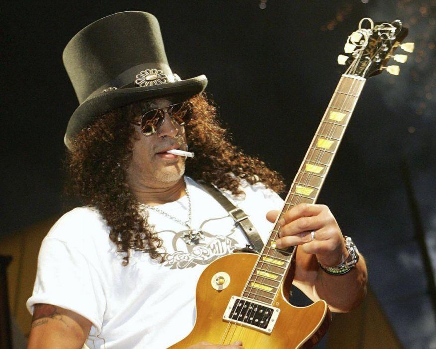 Guns N Roses heavy metal hard rock bands groups slash guitars concert live men males wallpaper