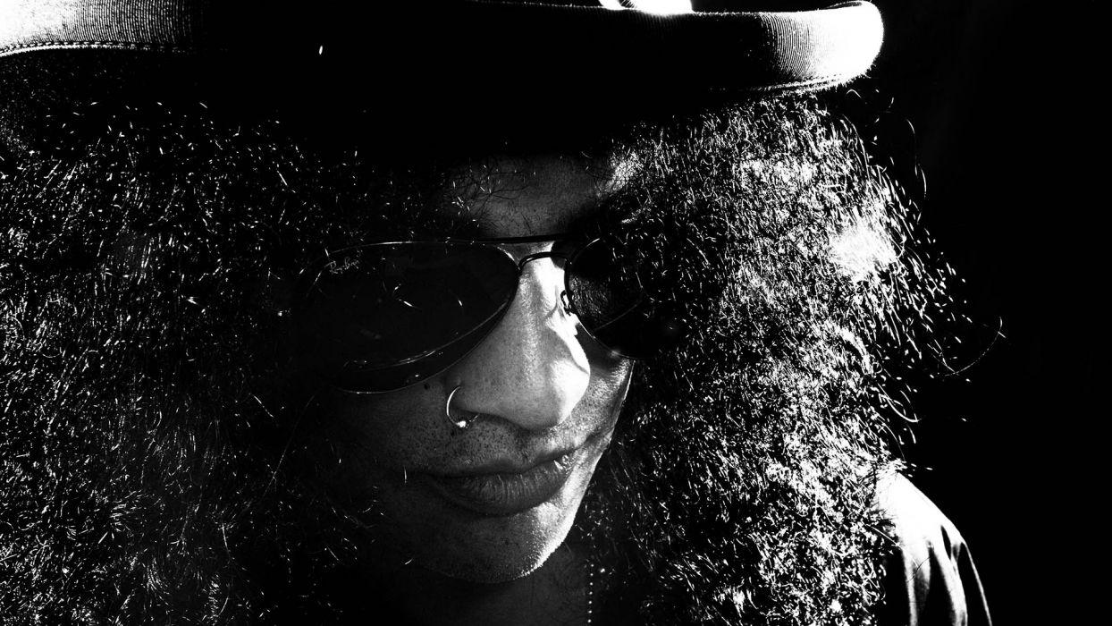 Guns N Roses heavy metal hard rock bands groups album cover slash glasses wallpaper
