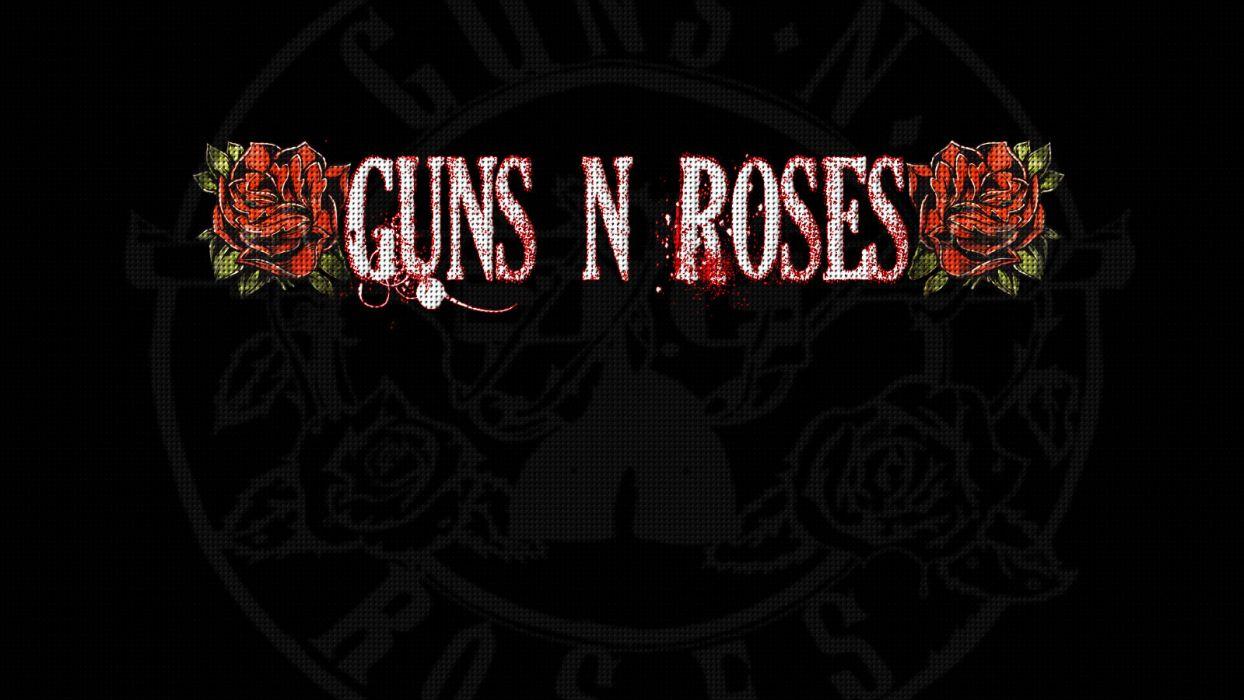 Guns N Roses heavy metal hard rock bands groups album cover logo wallpaper