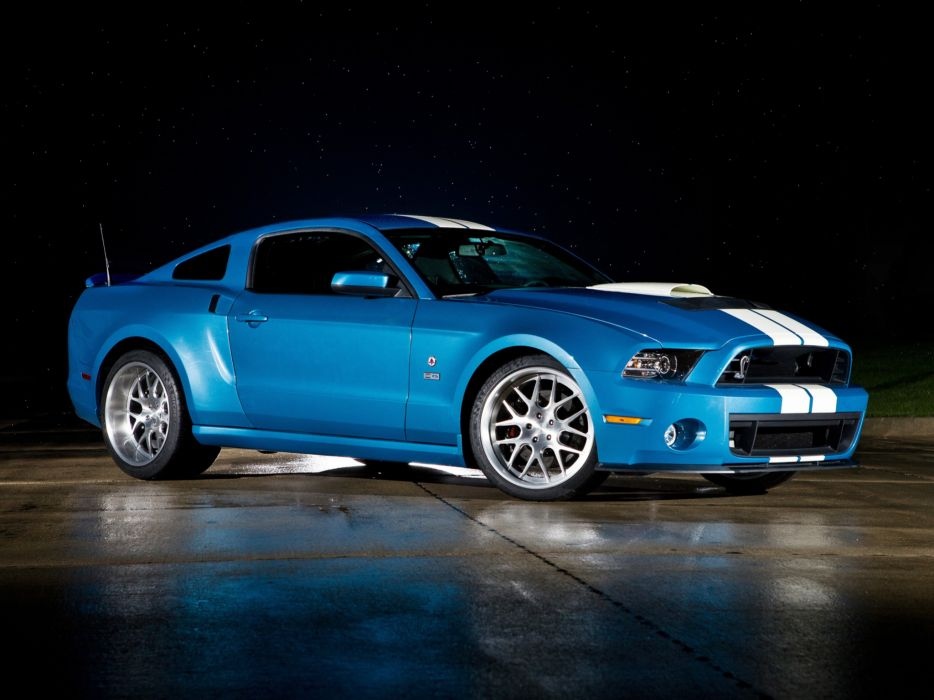 Shelby GT500 Cobra Mustang with 850hp ford vehicles cars muscle tuning wheels stripes contrast roads hot rod custom wallpaper