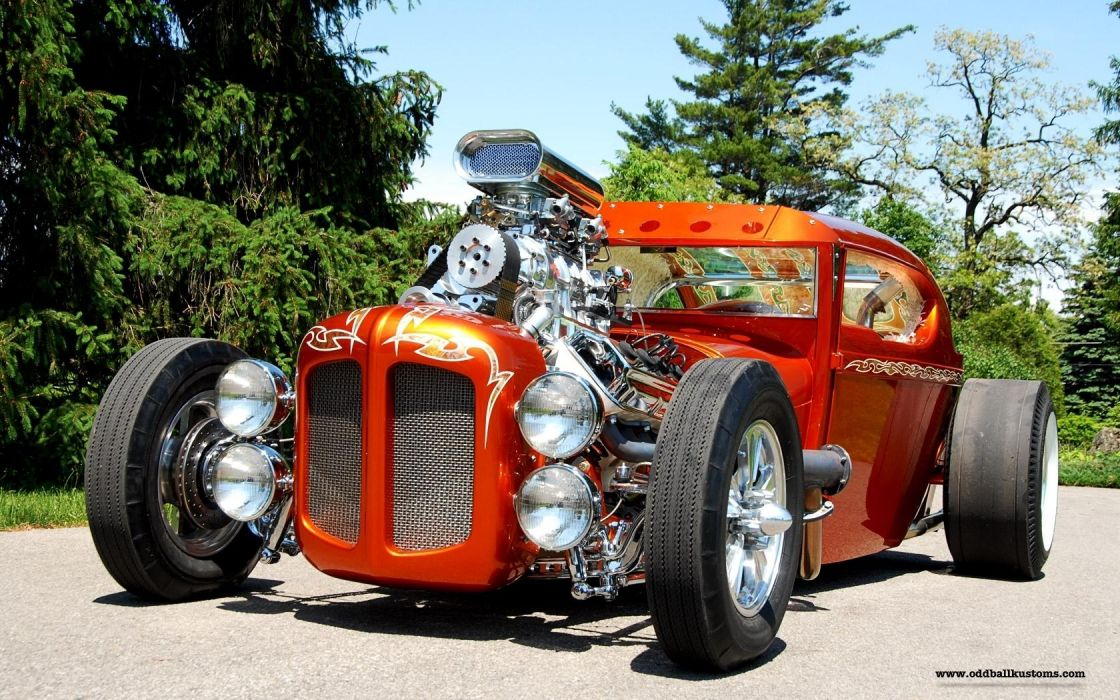 vehicles cars custom retro old classic hot rod tuning wheels candy color engine lights roads street wallpaper