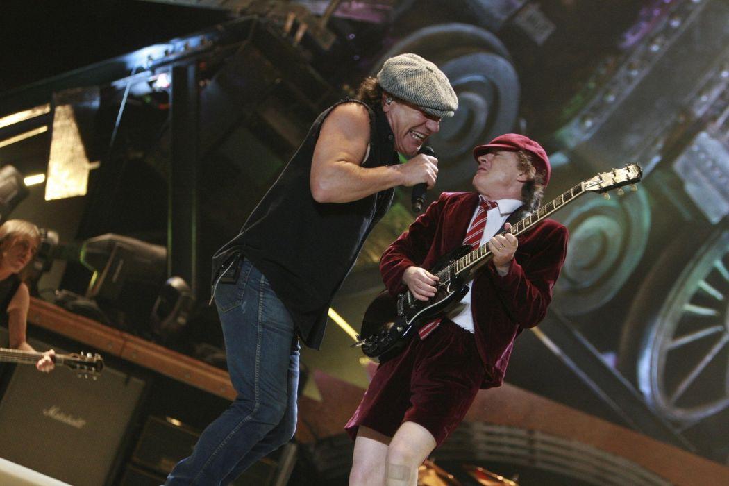 AC/DC ac dc acdc heavy metal hard rock classic bands groups entertainment men people male concert guitars singer wallpaper