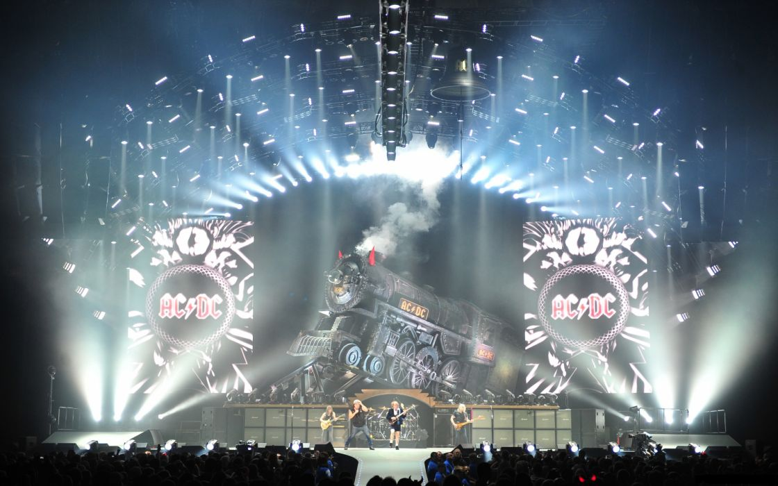 AC/DC ac dc acdc heavy metal hard rock classic bands groups entertainment men people male concert guitars drums wallpaper
