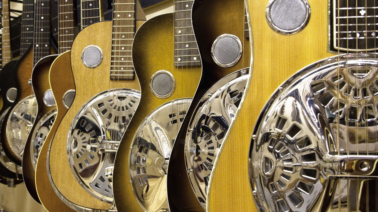 entertainment music guitars strings musical instuments wallpaper