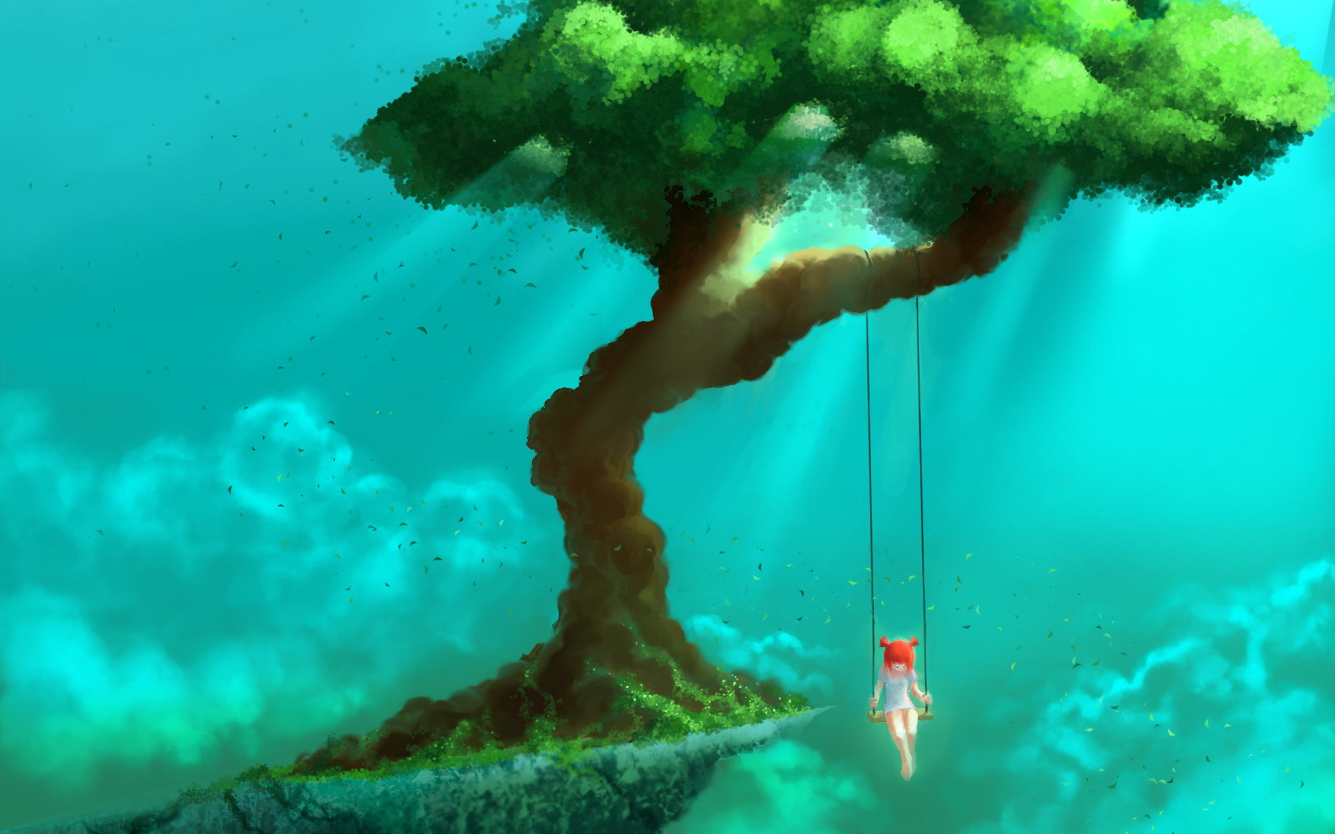 Fantasy dream mood emotion wonder swing situation art artistic