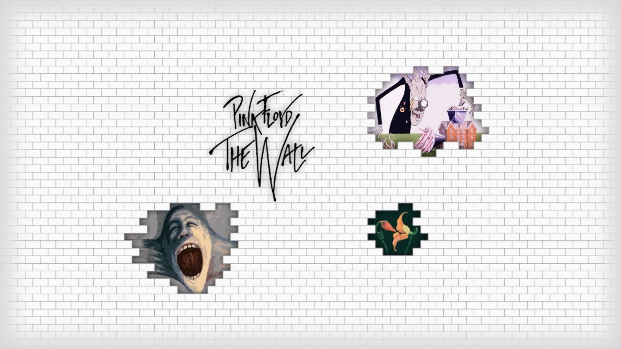 Pink Floyd hard rock classic retro bands groups album covers logo wallpaper