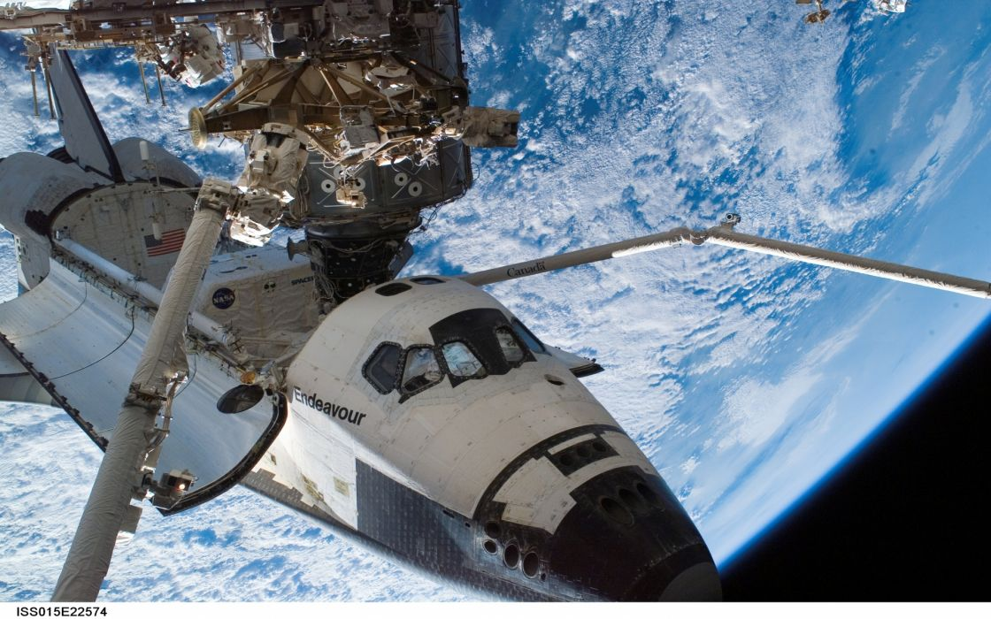 Space Shuttle station nasa earth atmosphere clouds planets mech tech window spaceship spacecraft photography ocean sea from wallpaper