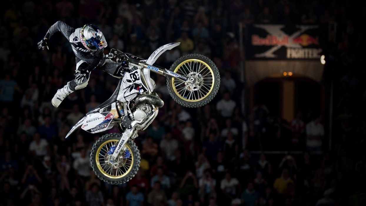 red bull x fighters freestyle motocross motorbike stunt competitions