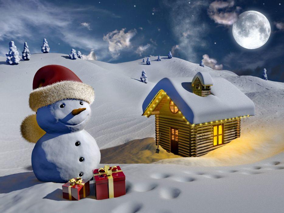 holidays christmas seasonal wallpaper
