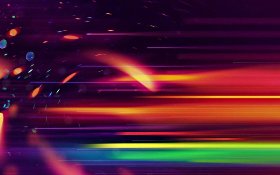 Abstract Cg Digital Art Artistic Colors Light Bright Spots Sparkle Streaks Rainbow Wallpaper 1920x1200 26433 Wallpaperup