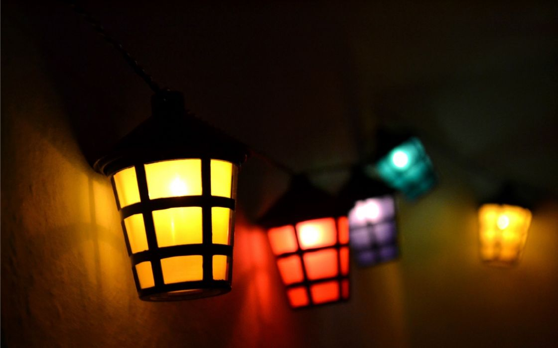 photography lights lamp color abstract dark wallpaper