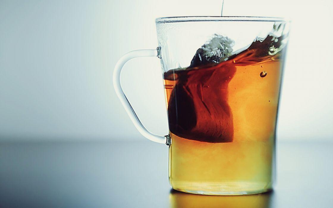 drinks tea cup glass bag liquid water wallpaper