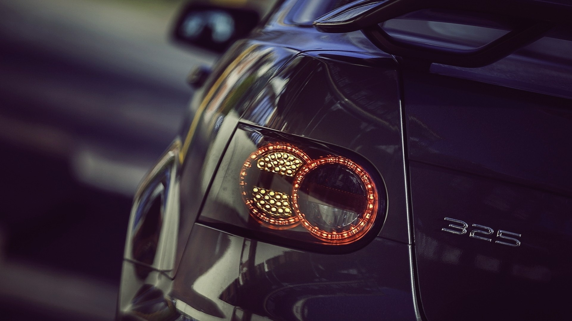 Bmw M3 Holden Monaro Lights Brake Tail Wallpaper