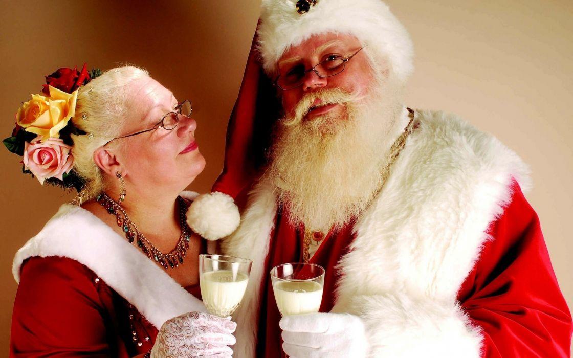holidays christmas santa wallpaper