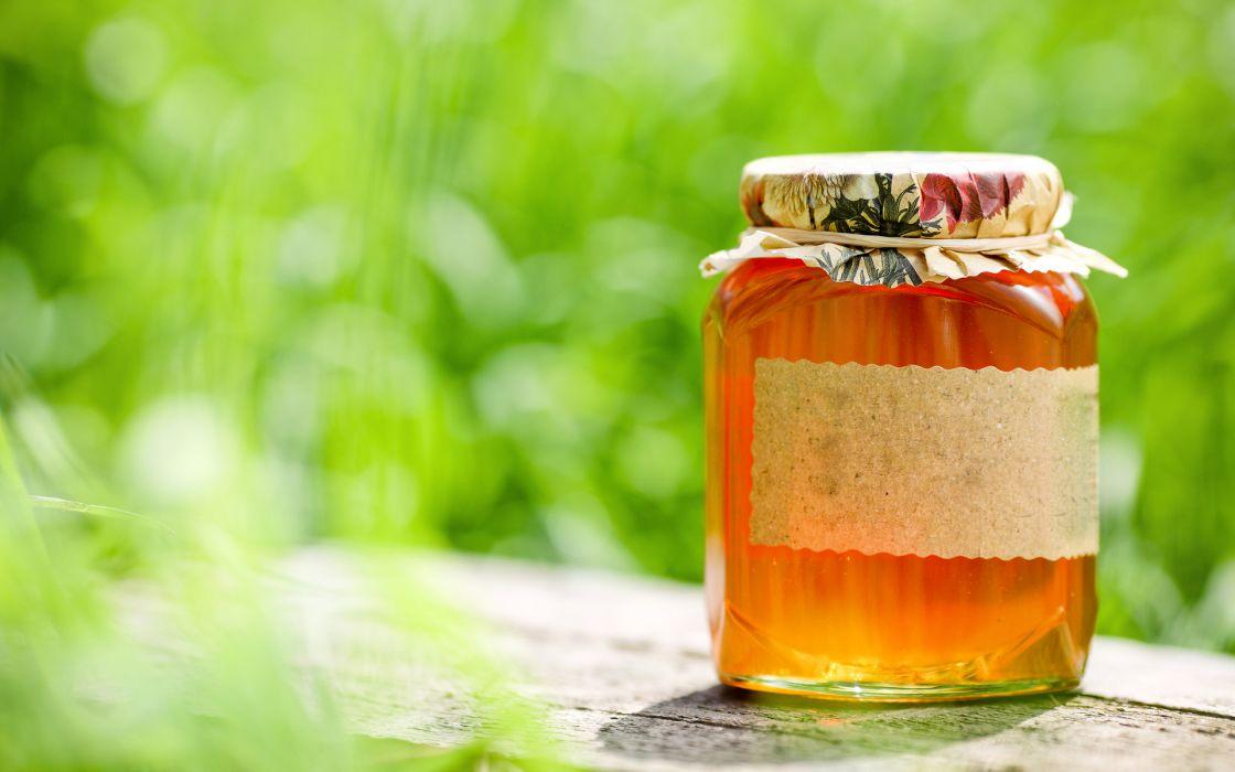 food honey gold macro still life jar bee wallpaper