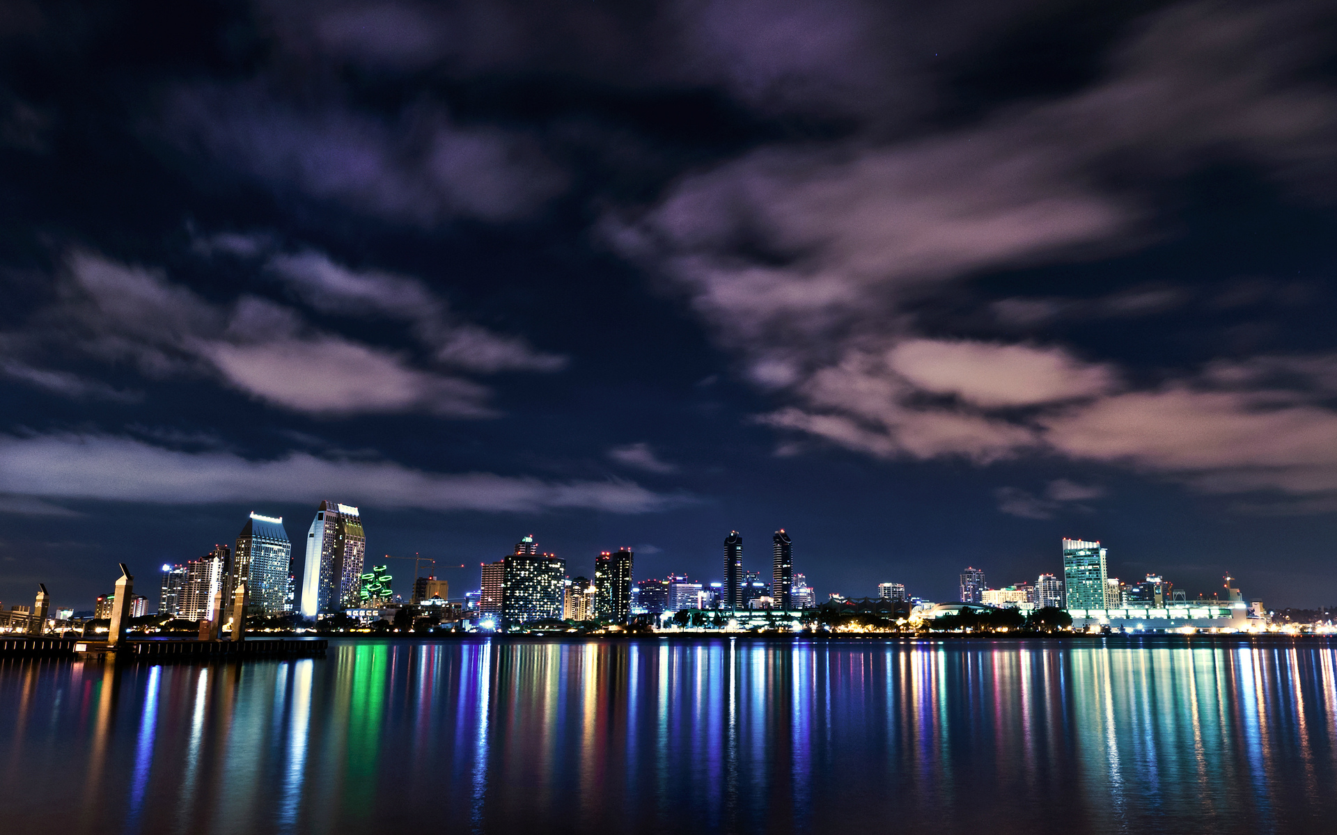 water clouds cityscapes futuristic - photo #35
