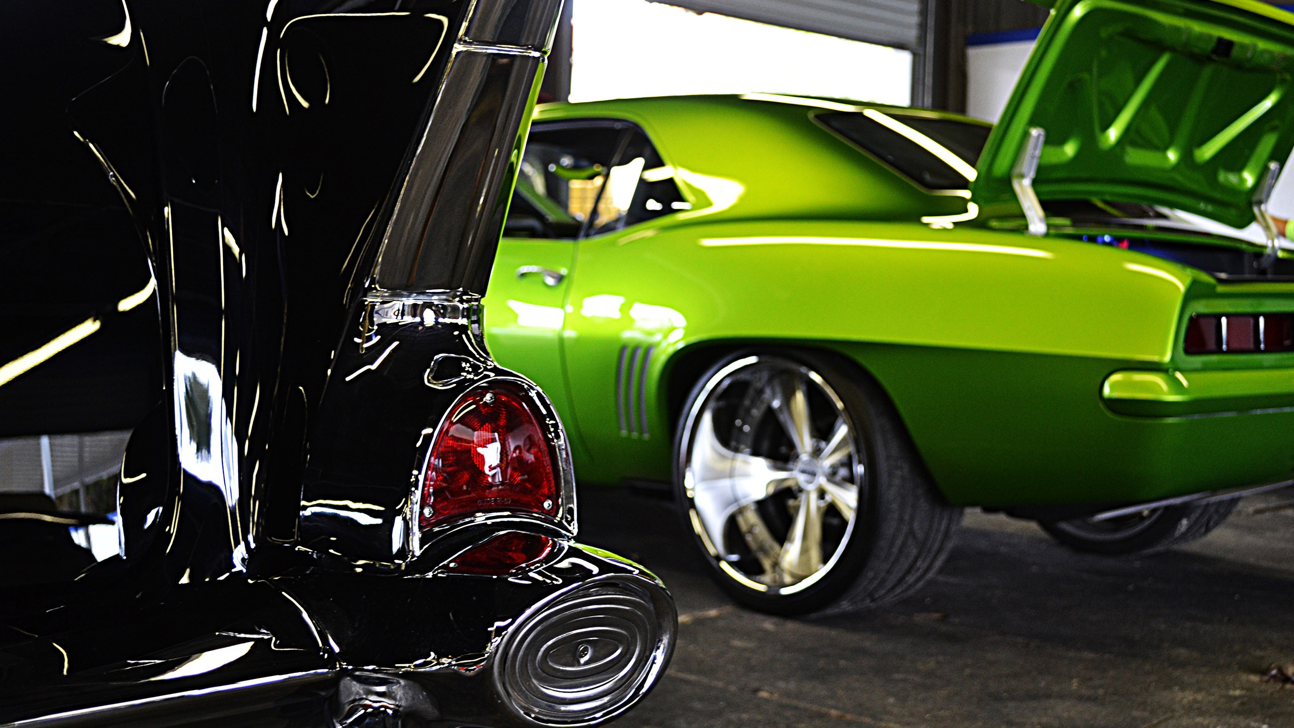 Belair And Camaro Vehicles Cars Chevrolet Chevy Custom - Muscle car tuning shop