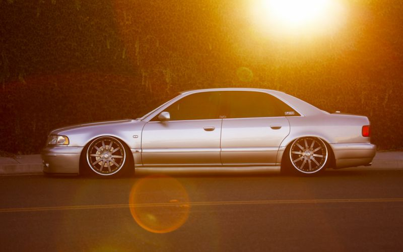 audi vehicles cars auto tuning stance import stance sunlight roads low sunset wheels wallpaper