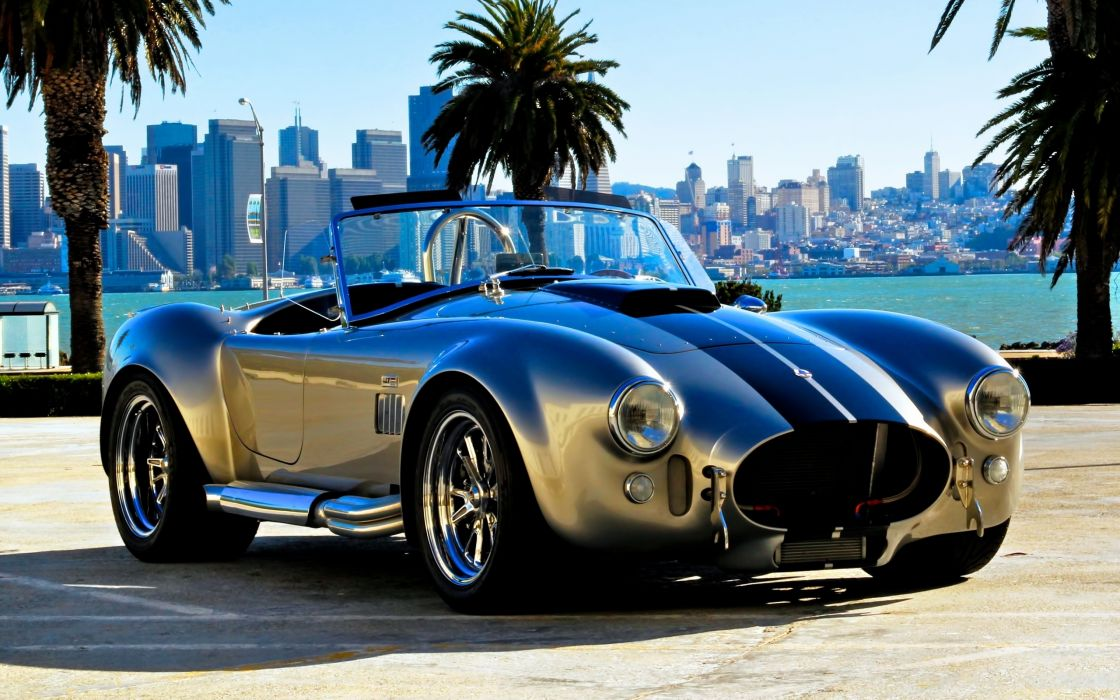 shelby cobra vehicles cars auto muscle race racing silver chrome wheels hot rod wallpaper