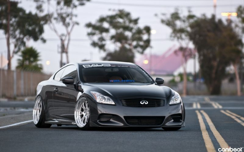 Infiniti G37 vehicles cars auto tuning stance wheels roads wallpaper
