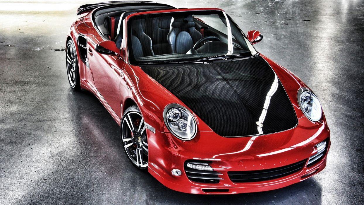 Porsche vehicles cars red exotic wallpaper
