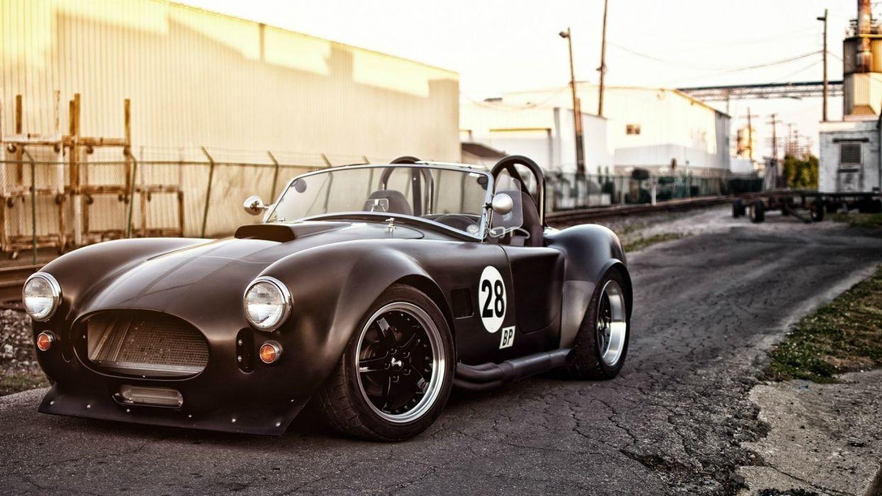 Shelby Cobra race racing muscle wheels roads hot rod wallpaper