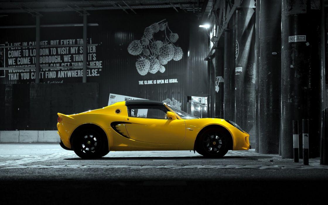 lotus elise vehicles cars yellow exotic wallpaper