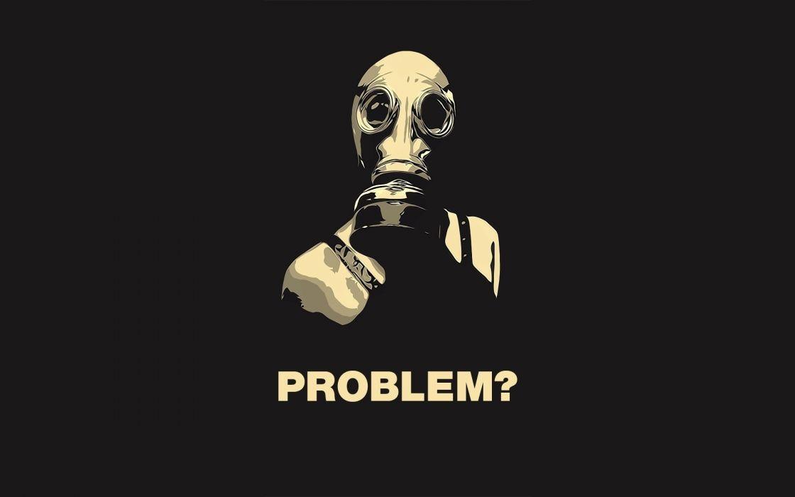 dark gas mask revolution anarchy apocalyptic wallpaper