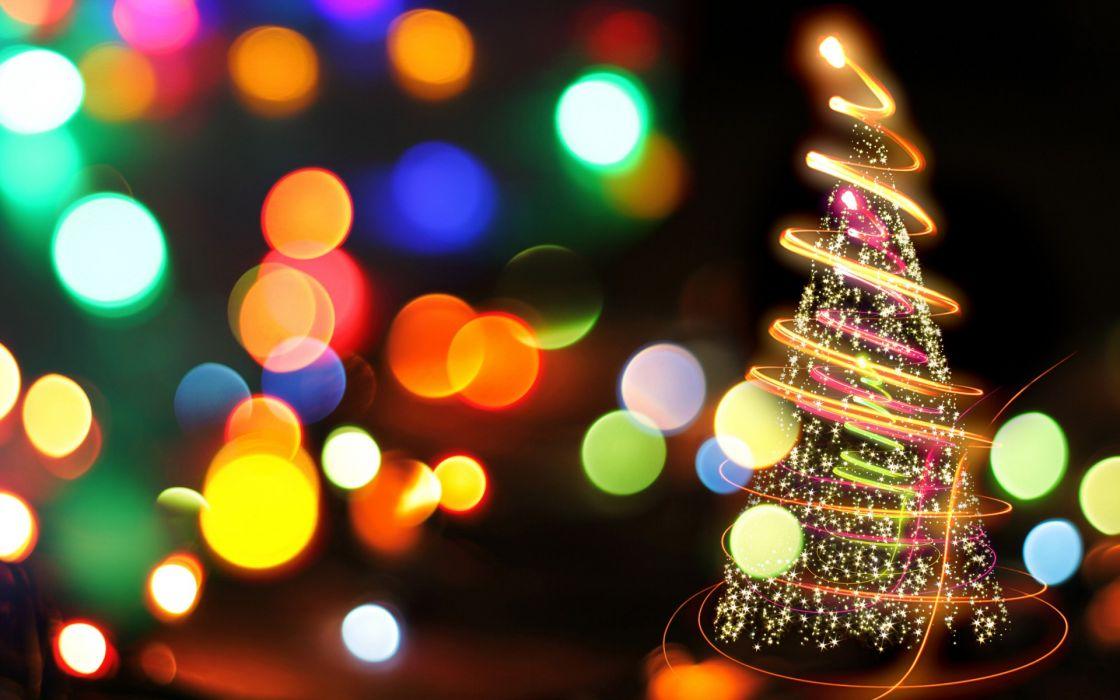 holiday christmas lights color wallpaper