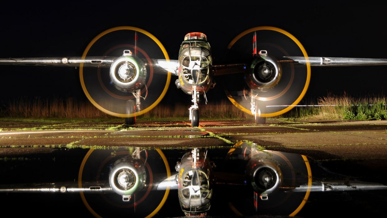 Airplane Plane WWII Timelapse Reflection vehicles aircraft military water reflection wallpaper
