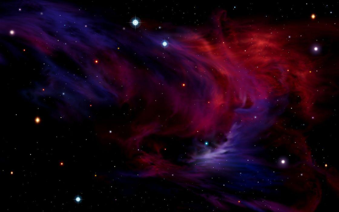 sci fi science fiction nebula stars space wallpaper