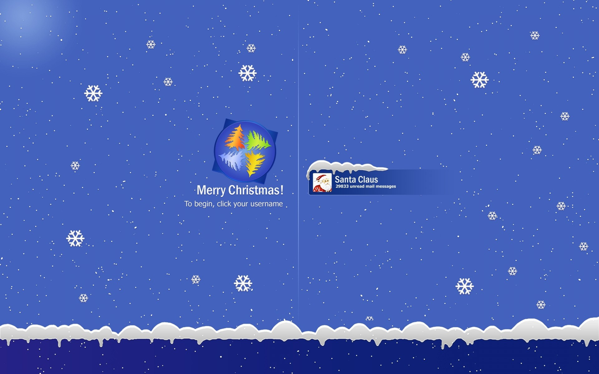 Holidays christmas seasons windows microsoft tech computer santa ...