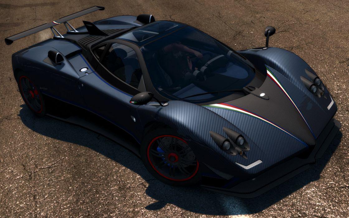 Pagani vehicles cars supercar exotic racing race stance wallpaper