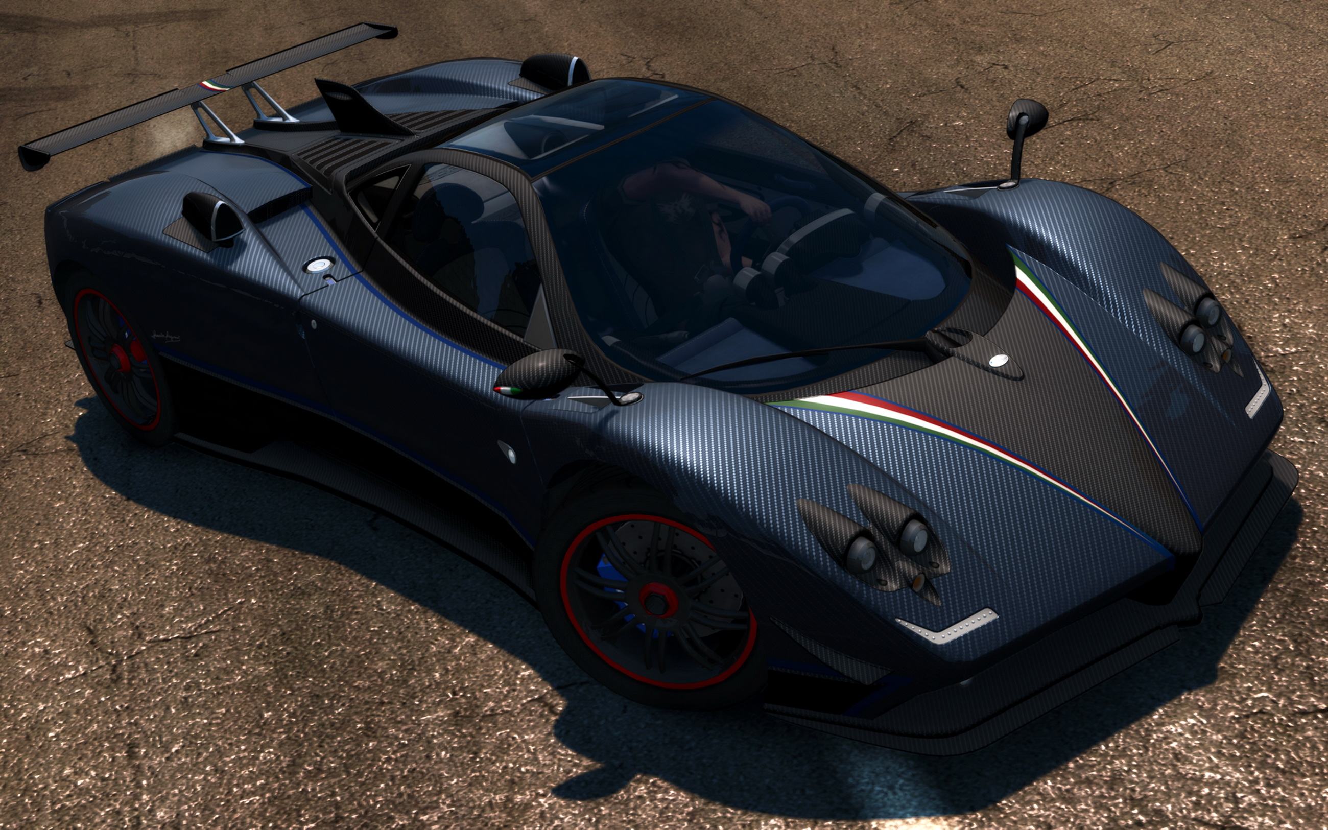 Pagani Vehicles Cars Supercar Exotic Racing Race Stance Wallpaper